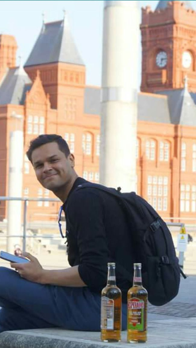 Cardiff Bay Wagner Hello World Cardiff City