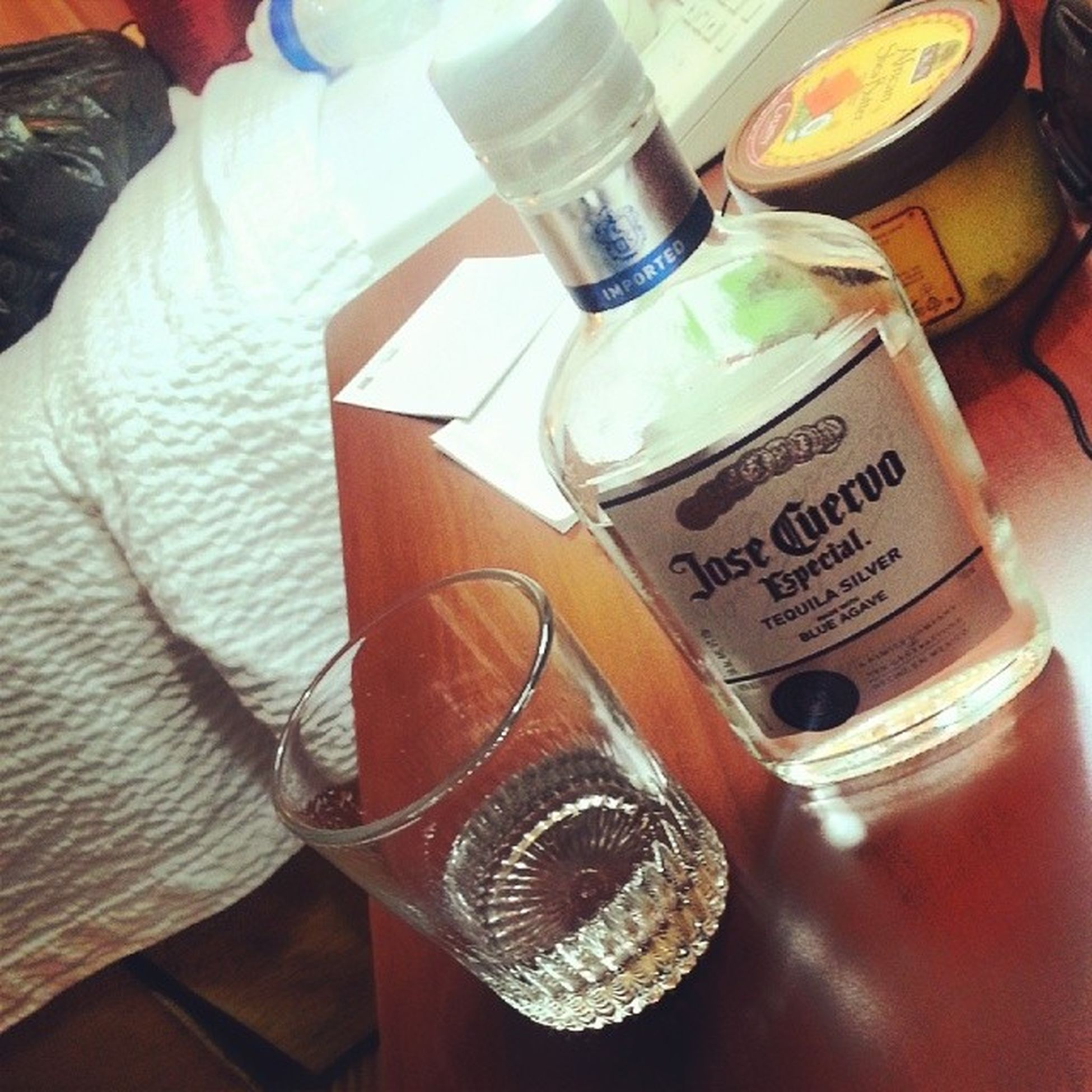 KIATEQUILA Cuervo Silver  We bout to go bowling!