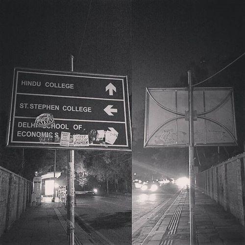 Night Stroller! x Delhi India DelhiGram Sodelhi Delhiuniversity Hinducollege Ststephenscollege Delhischoolofeconomics NorthCampus KamlaNagar Ridge Indiapictures The_hatke