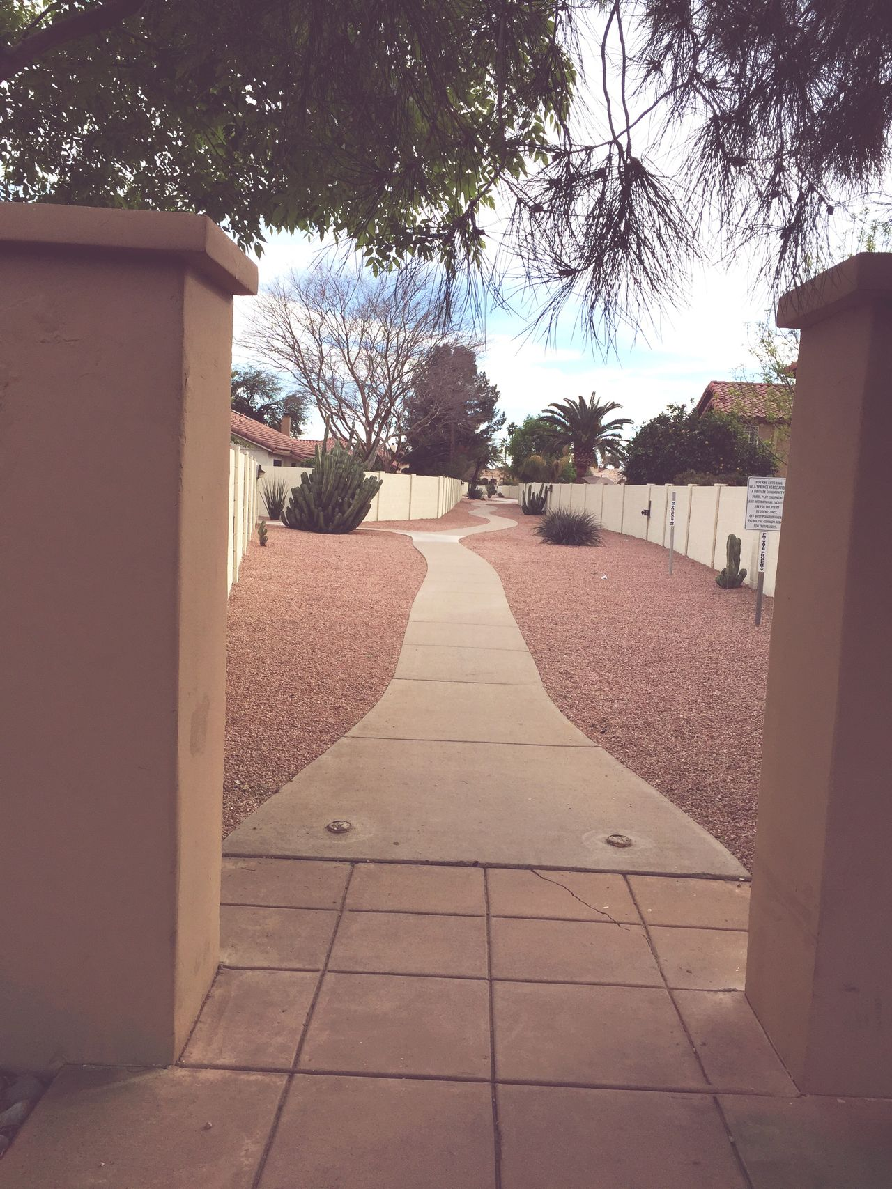 Walking Path