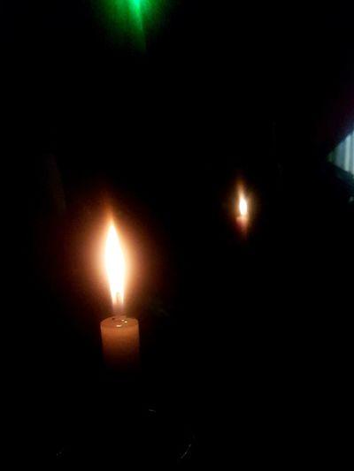 Velas.. Illuminated Light And Shadows