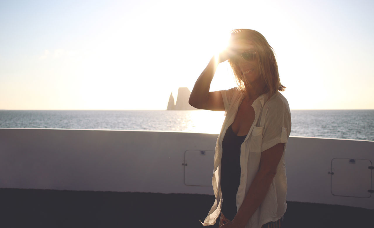 Beautiful stock photos of sonnenuntergang, 50-54 Years, Beauty In Nature, Boat Deck, Casual Clothing