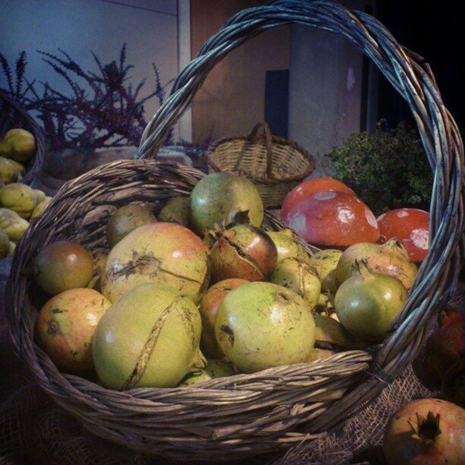 Magranes Pomegranates  Tardor Autumn instagram