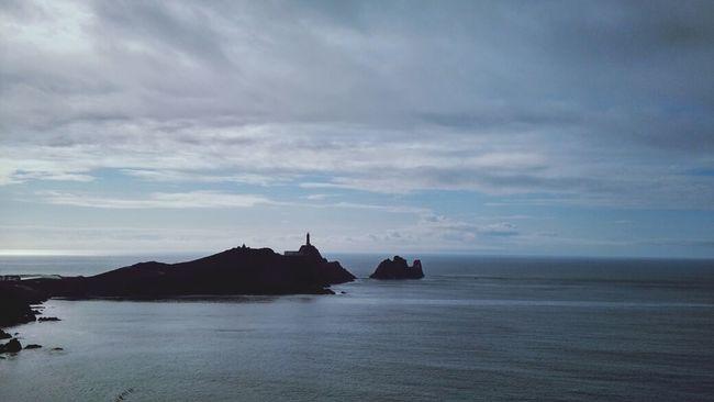 Mar. Cabo Vilano. Sea And Sky