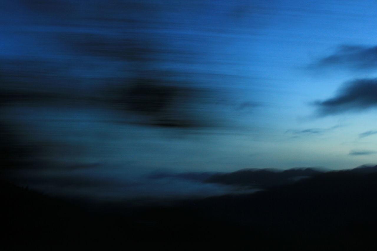 Abstraction of blue Black Blue Blueskies Bluesky Clouds EyEmNewHere Eyemphotography Landscape Moving Road Roadtrip Sky Sunset The Week Of Eyeem The Week On EyeEem