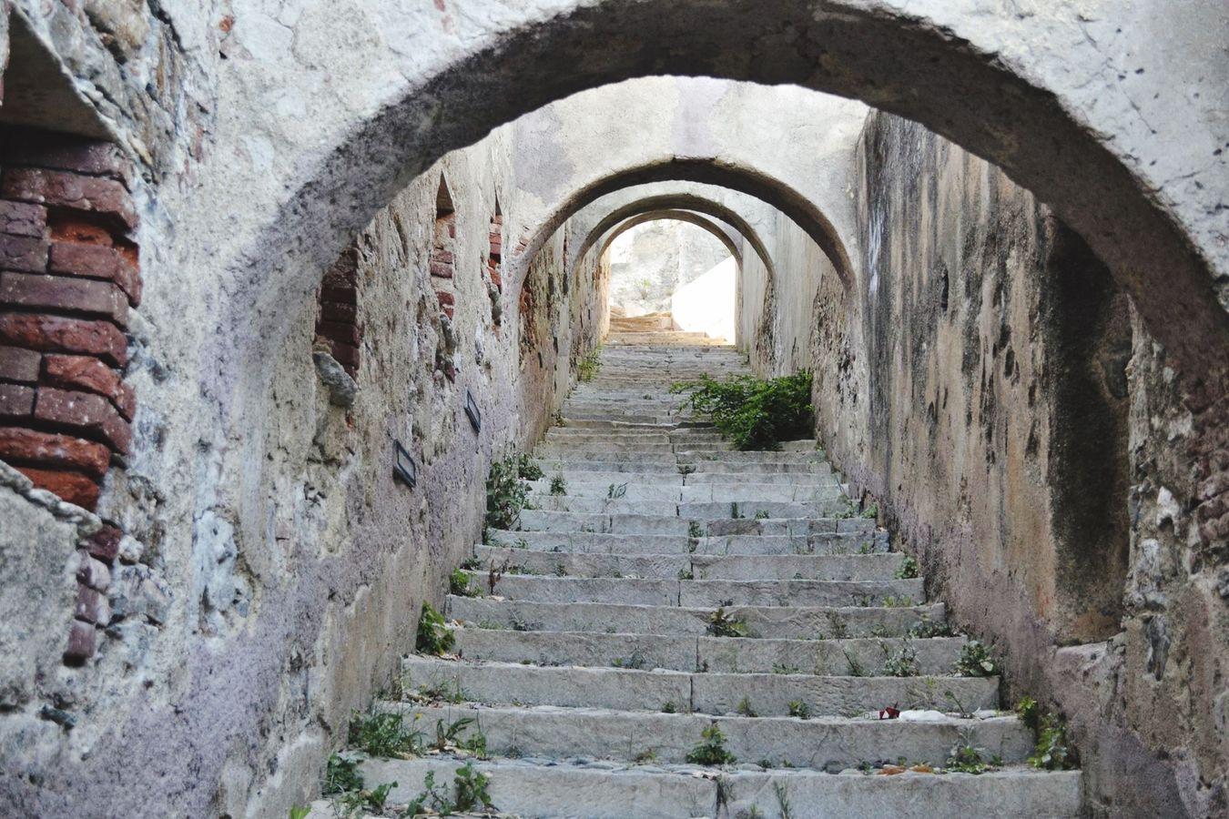 Bastia Vieux Bastia 2B Vieilles Pierres Original D'epoque Escaliers Petits Arches NikonD3100