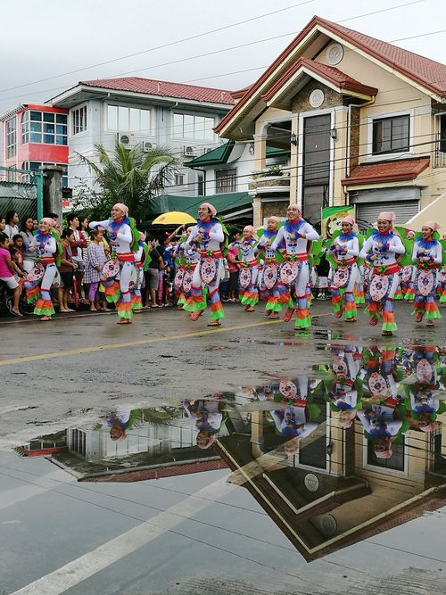 Street Parade dance - Happy Aurora Day 2017 - Baler, Aurora, Philippines Celebration Large Group Of People Cultures Architecture Built Structure Sky City Building Exterior Outdoors Water People Tree Crowd Adult Day Adults Only Astrology Sign Carnival Crowds And Details