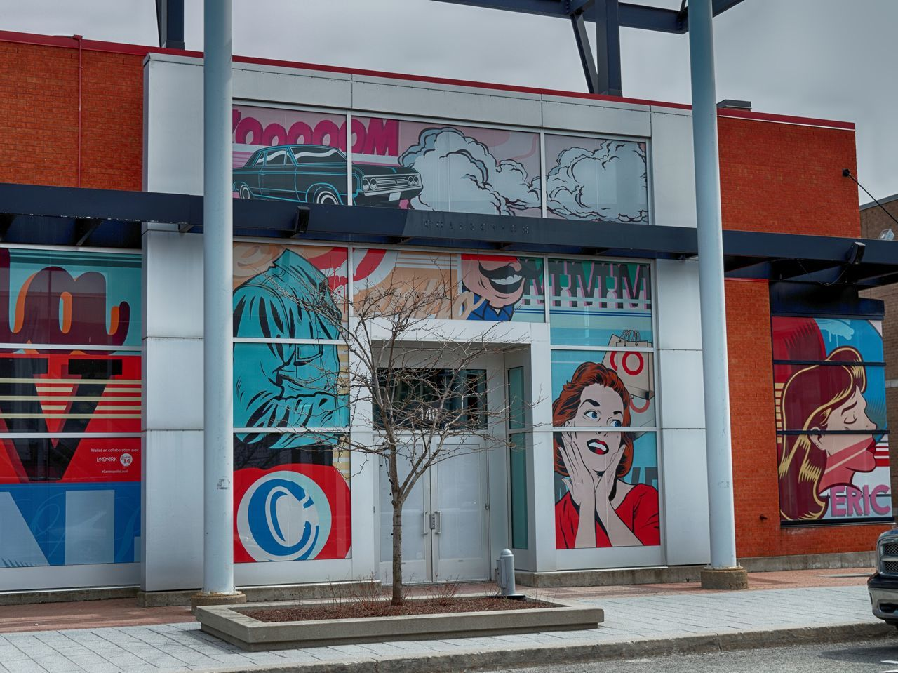 Architecture Building Exterior Built Structure Centropolis Day Design Graffiti Lifestyle Modern Multicolor No People Outdoors Pop Art Popart Red Shopping Street Photography Urban Exploration
