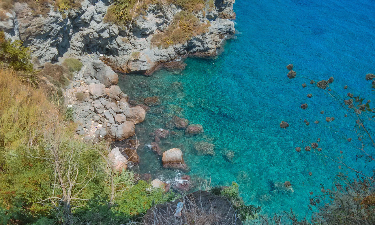 Beauty In Nature Colorful Colors Day Eolian Islands High Angle View Landscape LGg3photography Lipari Lipari Island Nature Nature No People Outdoors Photo Rock Scenics Sea Smartphonephotography Summer Summer2016 Tranquil Scene Tranquility Travel Destinations Water