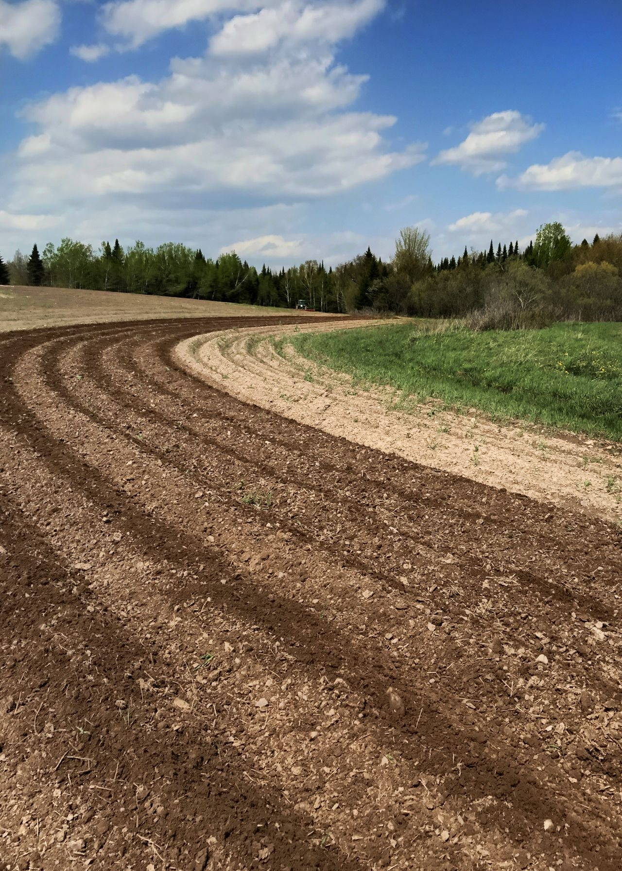 Agricultural field. Agriculture Field Soil Ground Preparation Commercial Agriculture Vertical Landscape Rural Scene Cloud - Sky Field Plough Scenics Outdoors Plowed Field