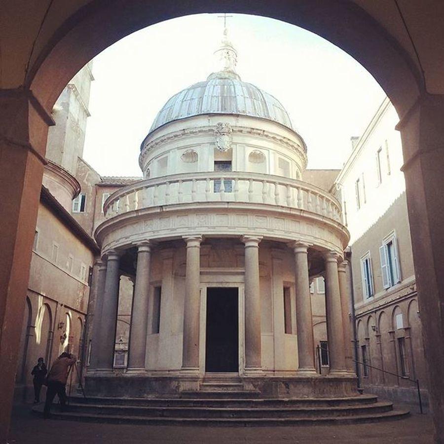 Meraviglie di Roma Accessibili Tempietto Bramante Tempiettopertutti Italy Art Beauty