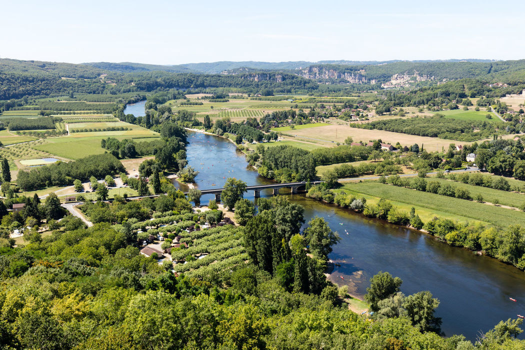 Aerial View Beauty In Nature Canal Countryside Day Dordogne Field France Green Green Color Growth High Angle View Idyllic Landscape Nature Non-urban Scene Outdoors Remote River Scenics Sky Tranquil Scene Tranquility Tree Water