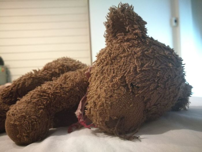 Toy Teddy Bear Stuffed Toy Childhood No People Close-up Old Children Playing Hug Love Binding Friend Object Thailand