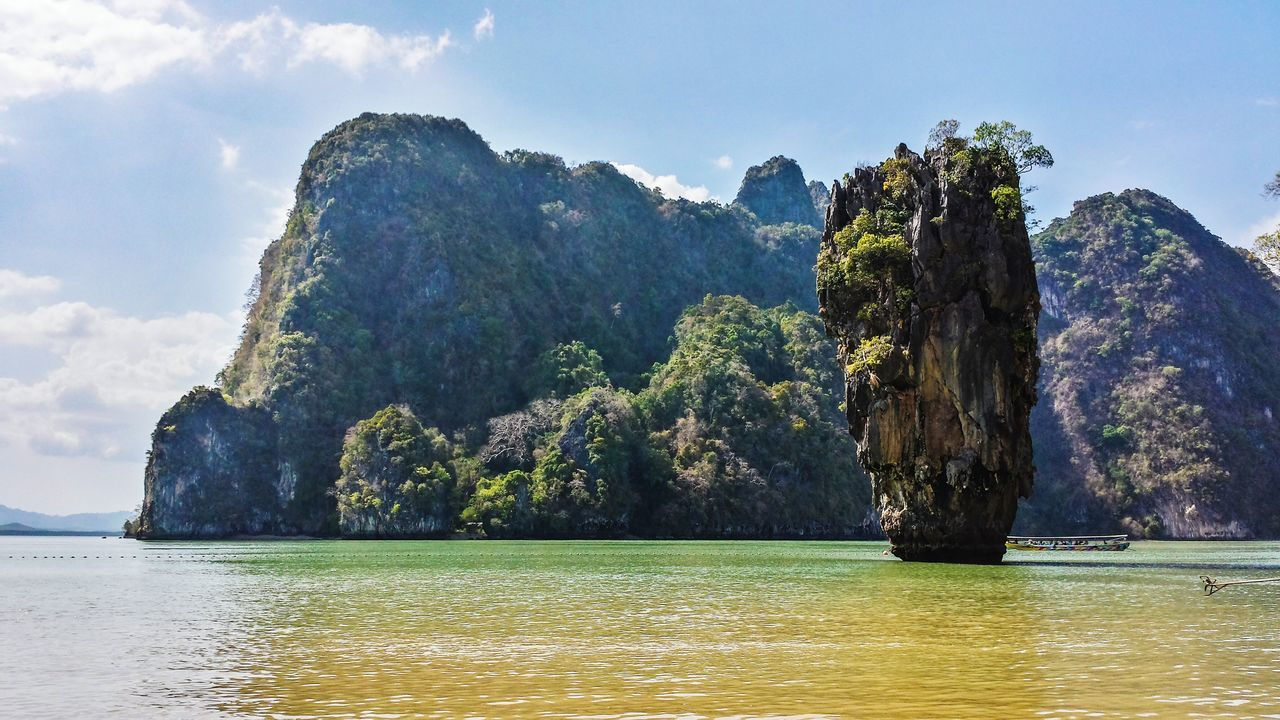 Beautiful stock photos of thailand, Beauty In Nature, Calm, Cloud, Day