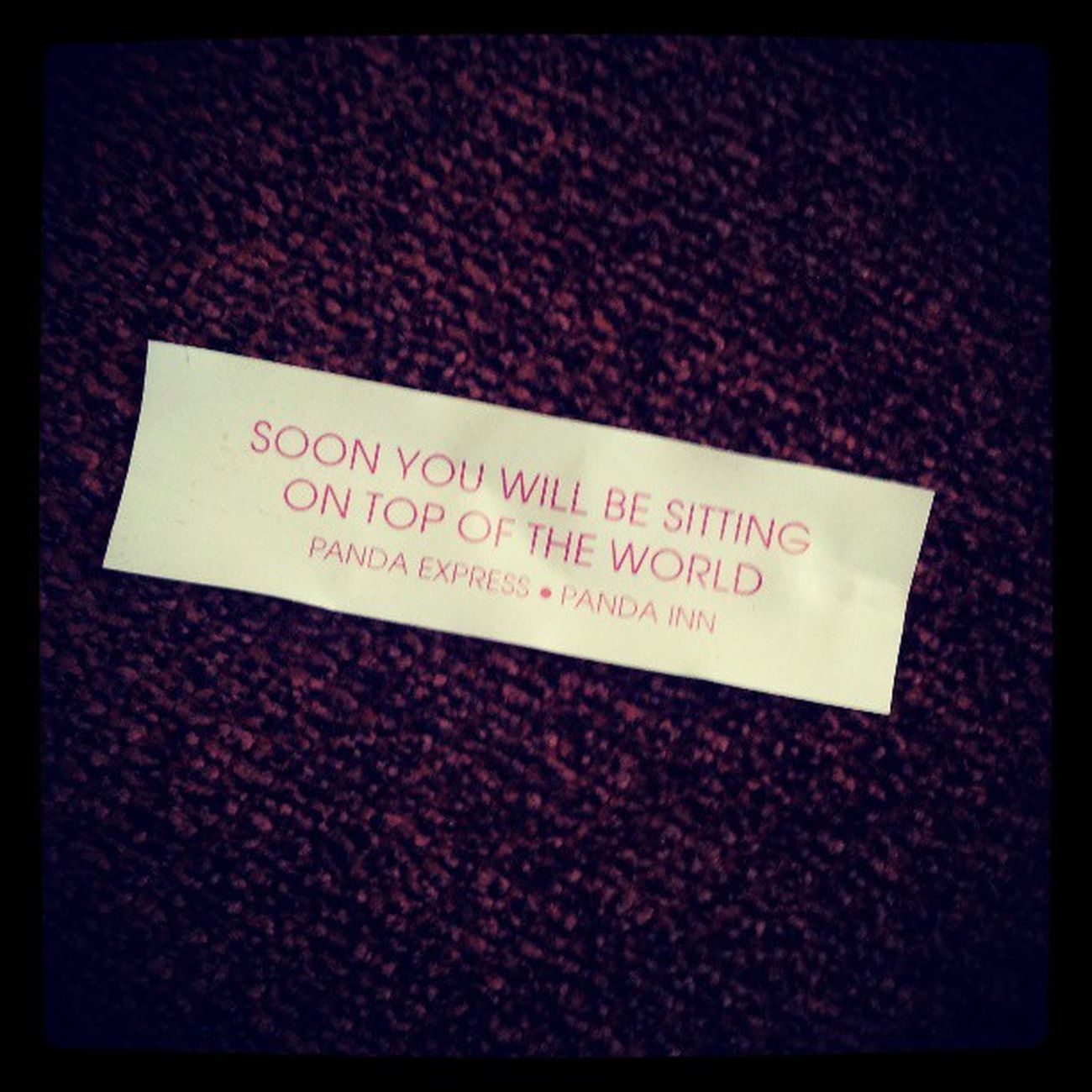 My fortune today from lunch... its a sign.... hell yea!!!! Lets get it HYPE!!!! Aoh HHI2013 Hype Bandits RASCALS HAWAII TEAMUSA