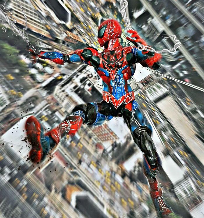 Playartskaifigures Spiderman Actionfigures Toy Photography Toys Swing Action Figures Marvelmovies Toygroup_alliance