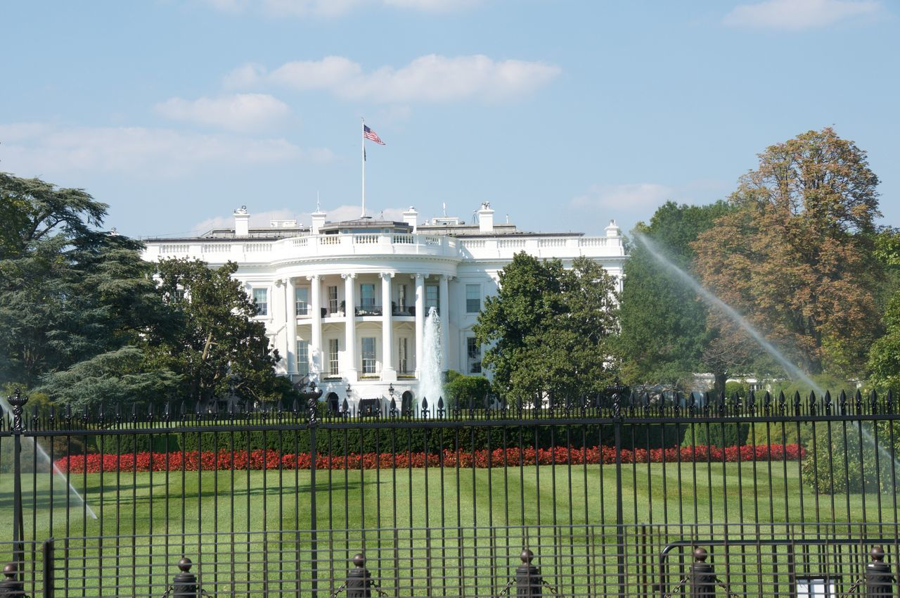 Beautiful stock photos of white house,  American Flag,  Architecture,  Blue,  Building Exterior