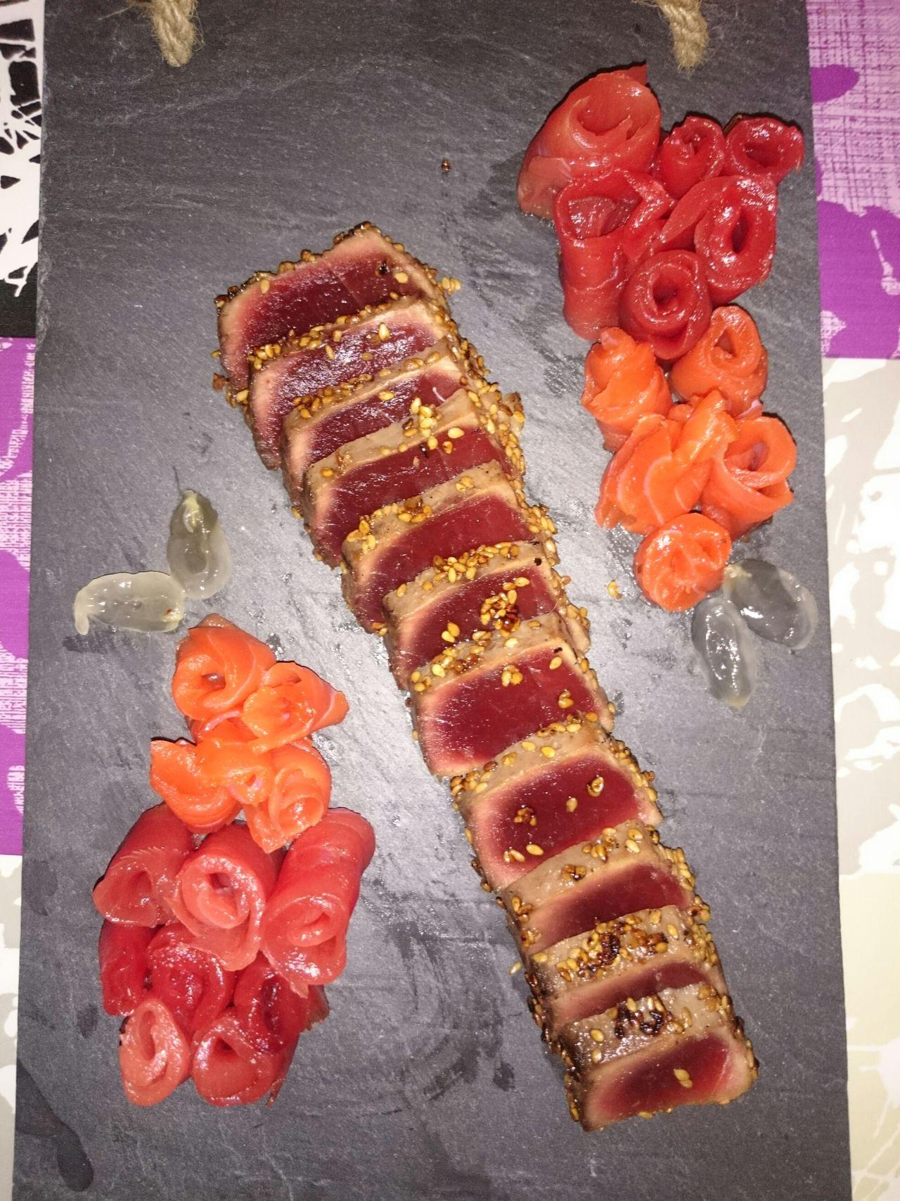 Tataki Tataki De Atún Sushi Sushi! Food Comidas Comida Japonesa Fet A Casa