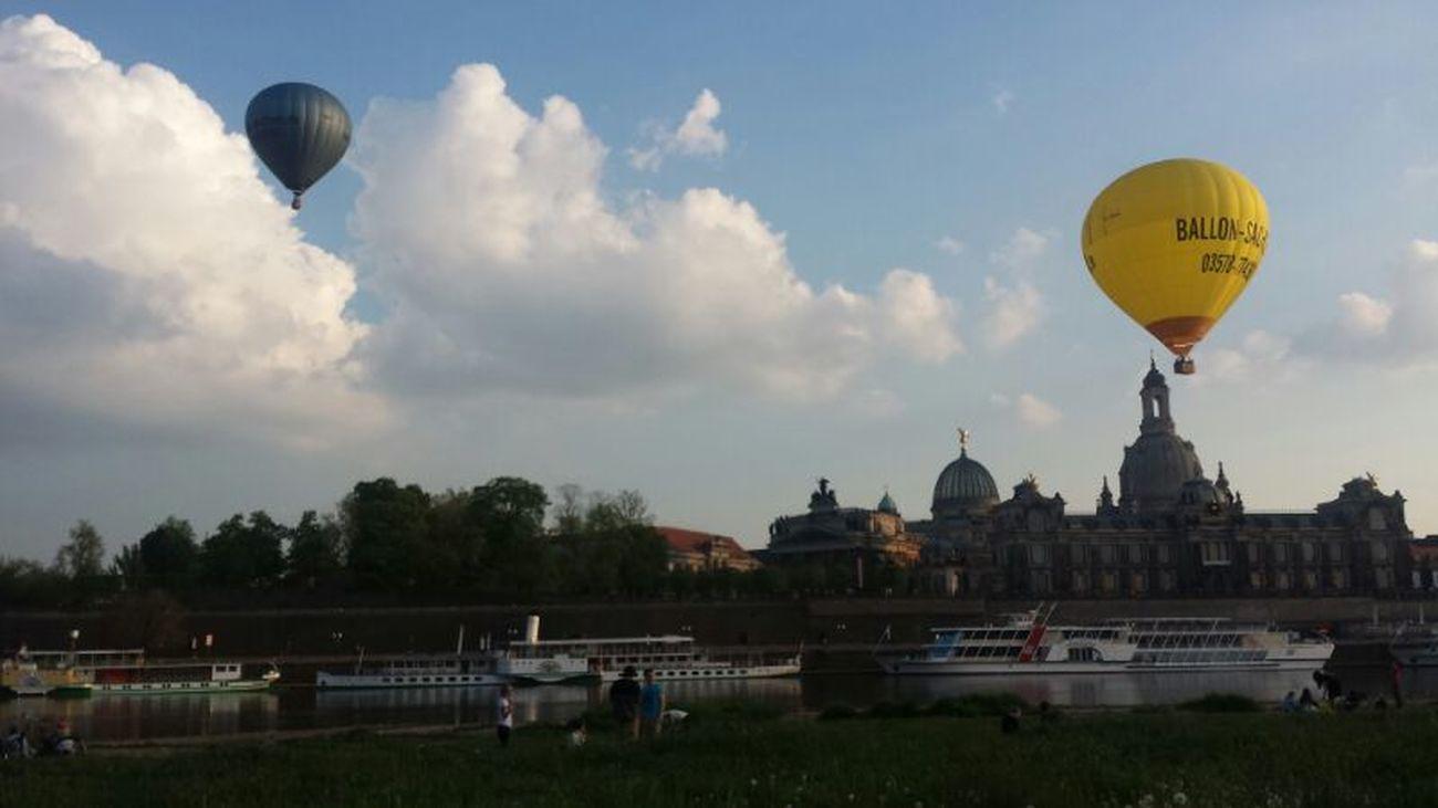 Sky Relaxing Dresden Heissluftballon chillo #abhängo