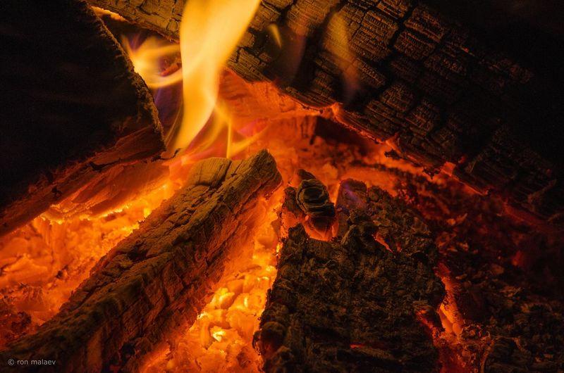 Campfire Winter Fire Ember