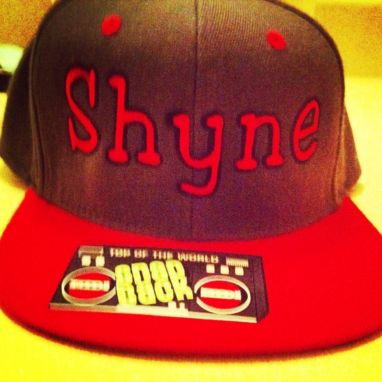 My Name On My Snapback