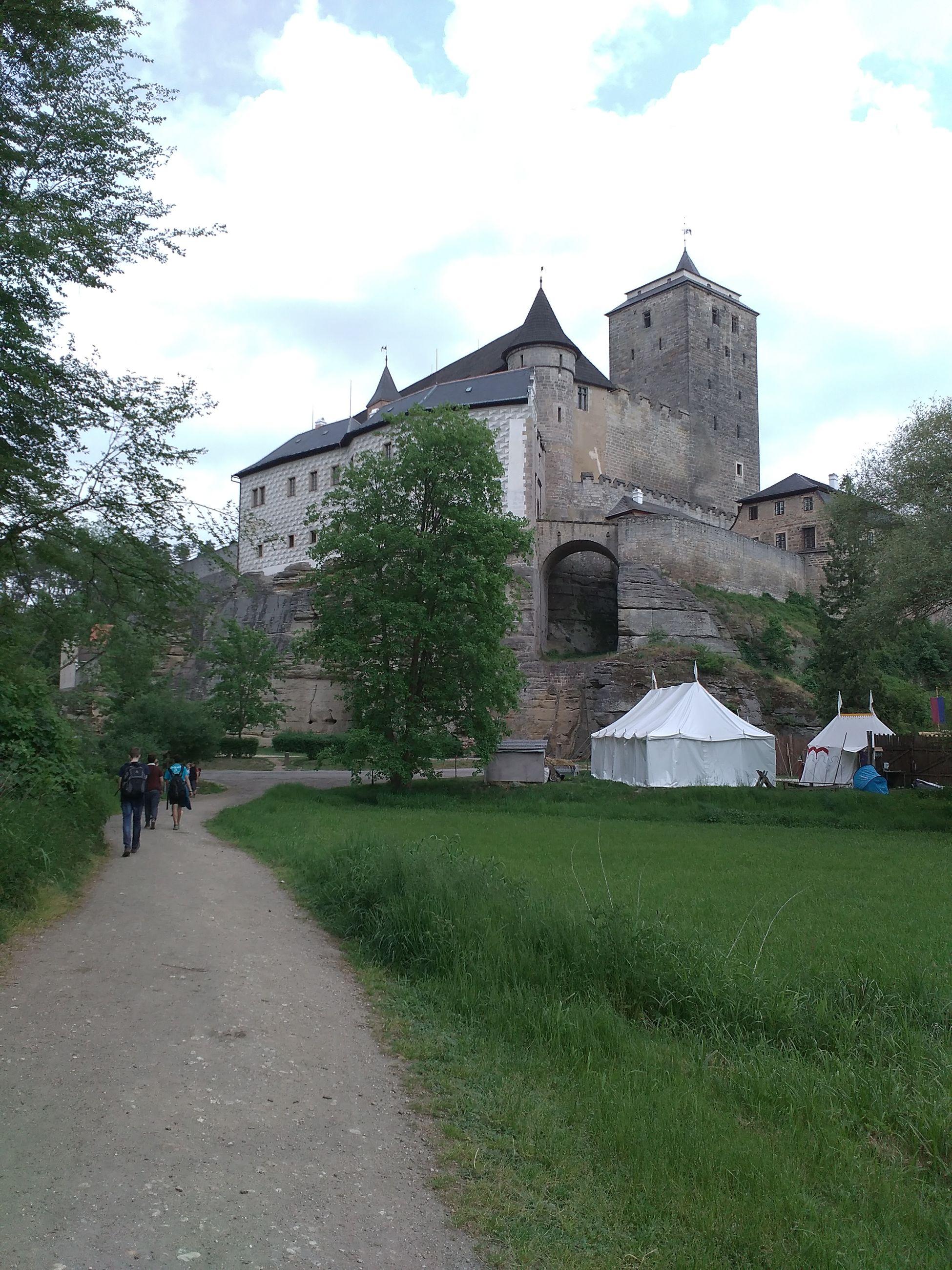 Kost Castle Czech Republic Český Ráj Hrad Kost školní Výlet
