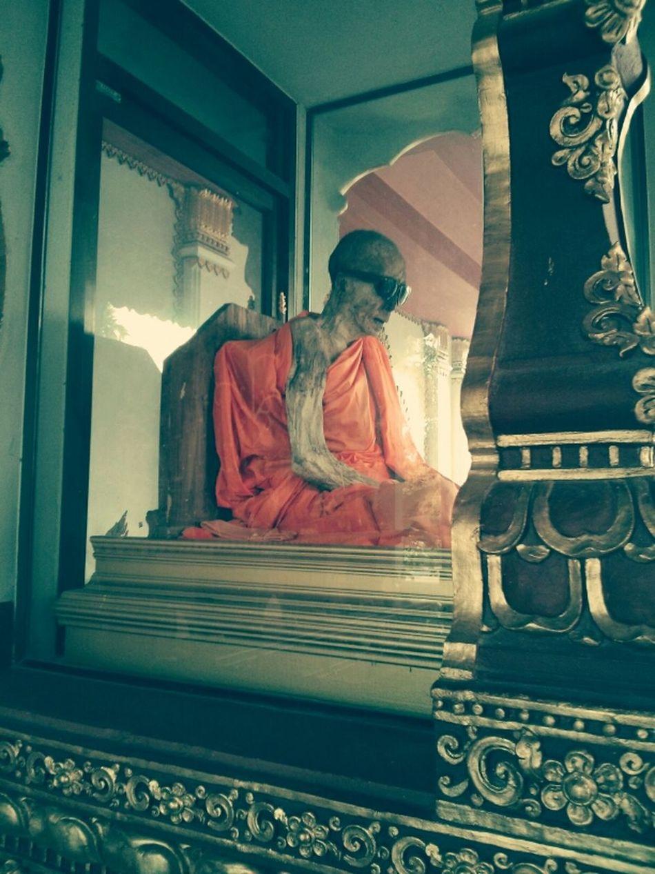 Monk  Kus In Thailand