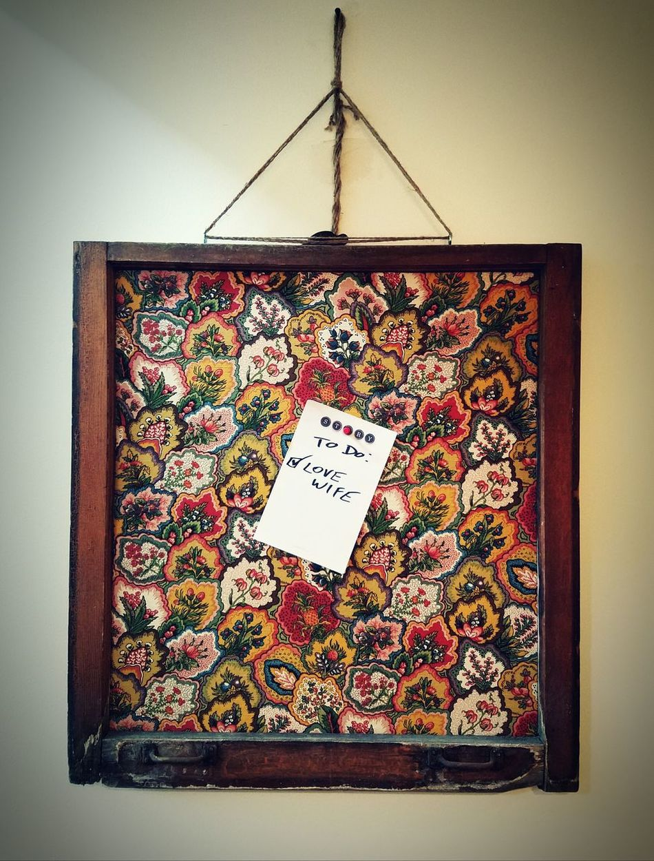 Chicago Scout Message Board Love Note To Do List DIY Repurposed Windows