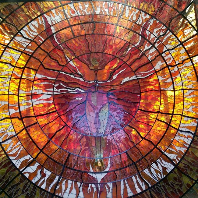 Cityscapes Taking Photos Stainedglass Stained Glass Sun