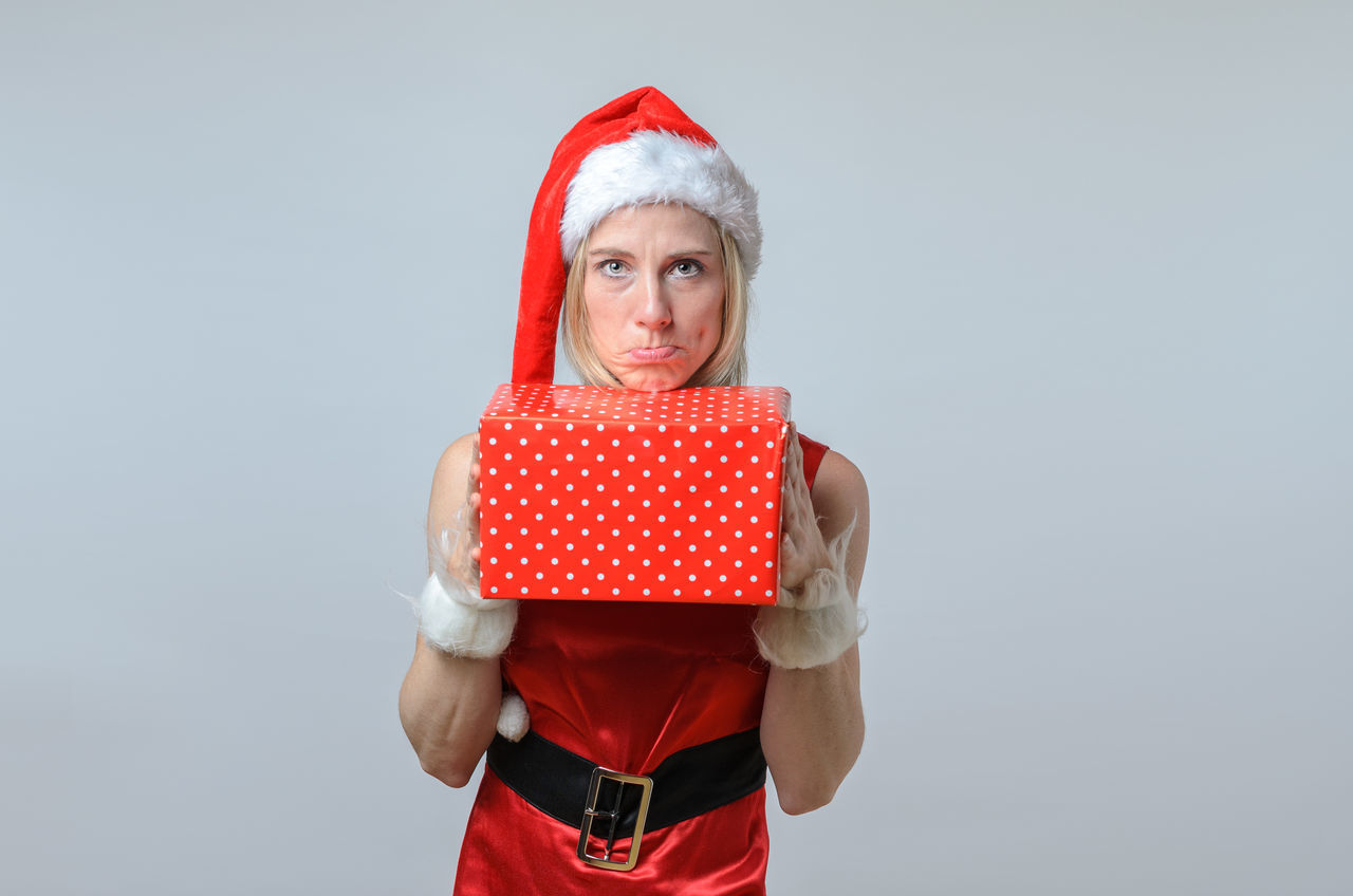 Beautiful stock photos of santa claus,  40-44 Years,  Caucasian Ethnicity,  Christmas,  Christmas Present
