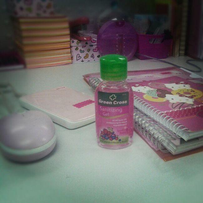 Even my handsanitizer is pink Lovepink Justbecauseitspink