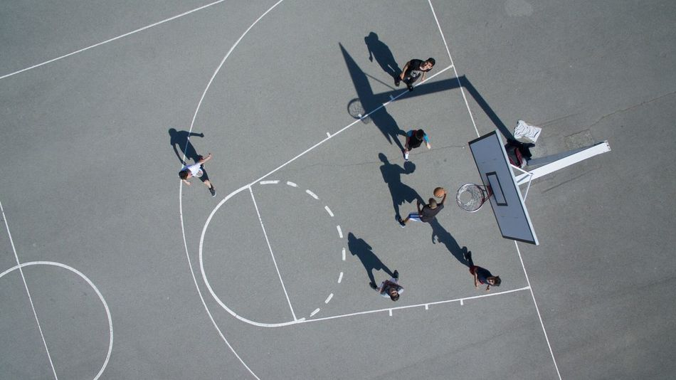 The 1 st of my overhead drone series of High Angle View Sport Shadow Photography Day Shadow Flying High