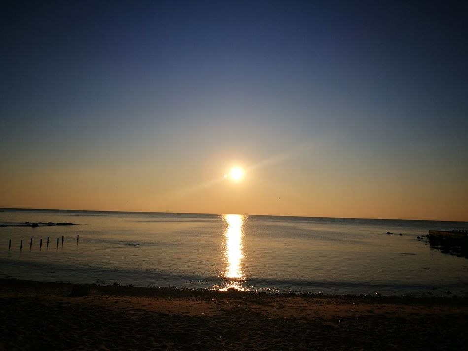 Water Sea Beach Horizon Over Water Scenics Tranquil Scene Sky Sand Travel Destinations Beauty In Nature Outdoors Tranquility Sun No People Seashore Light And Shadow Shadows & Lights Sunlight Cloud - Sky No Filter Varna,Bulgaria Sunrise Sunrise At The Beach Sunrise Over Water