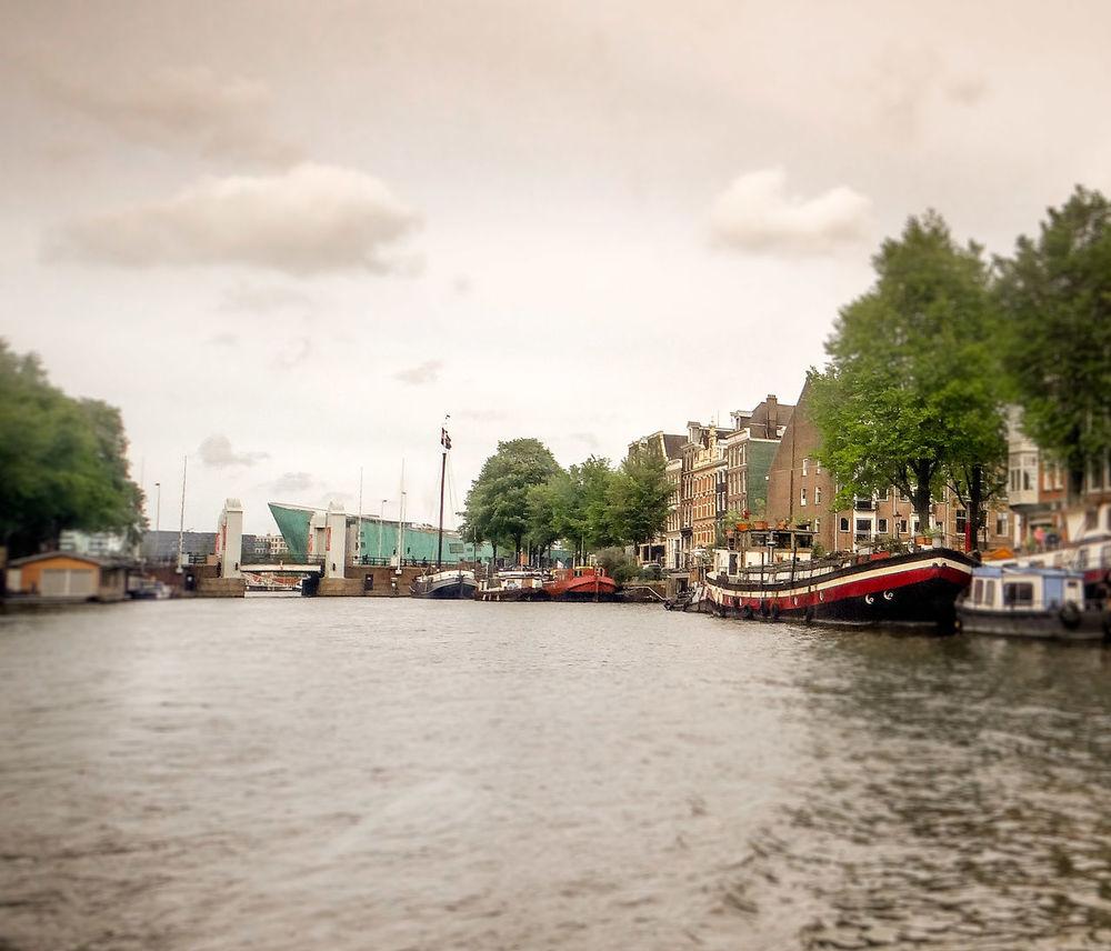 Amsterdam Keizersgracht River Riverside Boats
