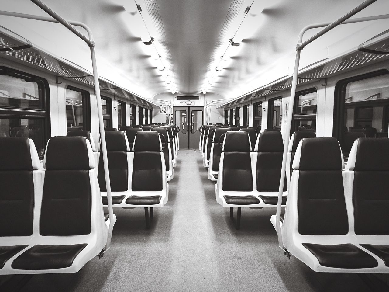 Empty Empty Places Empty Chairs No People Seats Train Trains Train Ride Transportation Transport Blackandwhite Black And White Black & White Blackandwhite Photography Black&white Black And White Photography Monochrome Urbanphotography Symmetry Symmetrical Blackandwhitephotography Exceptional Photographs Let's Go. Together.