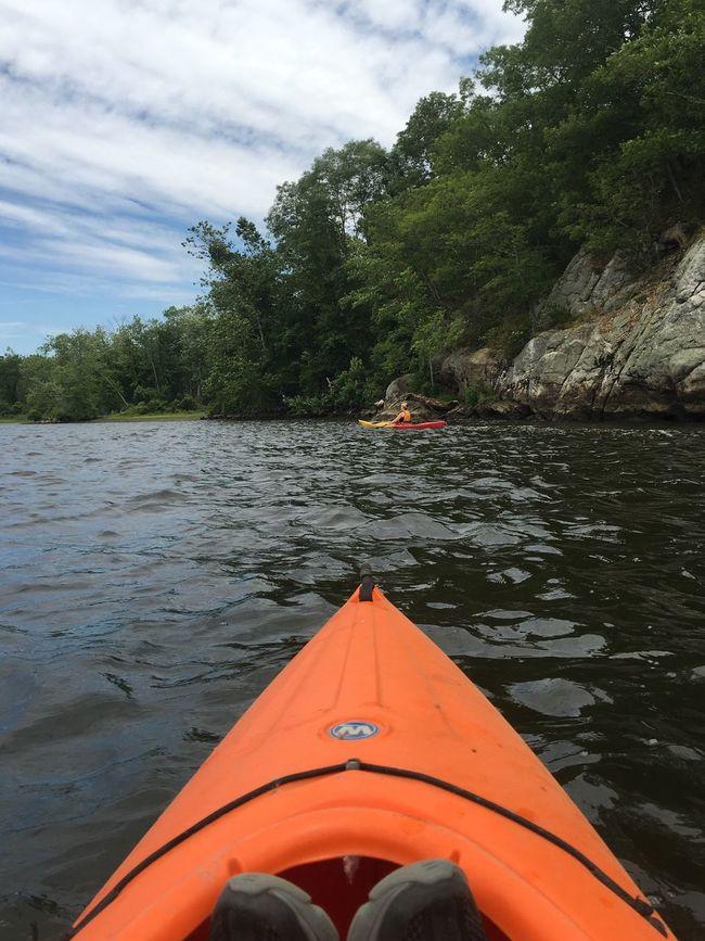 Canoe river boating kayaks