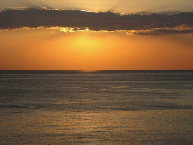 Sicilia Sicily Taormina Italia Beauty In Nature Horizon Over Water Nature No People Outdoors Scenics Sea Sky Sun Sunrise Taormina Tranquil Scene Tranquility Water