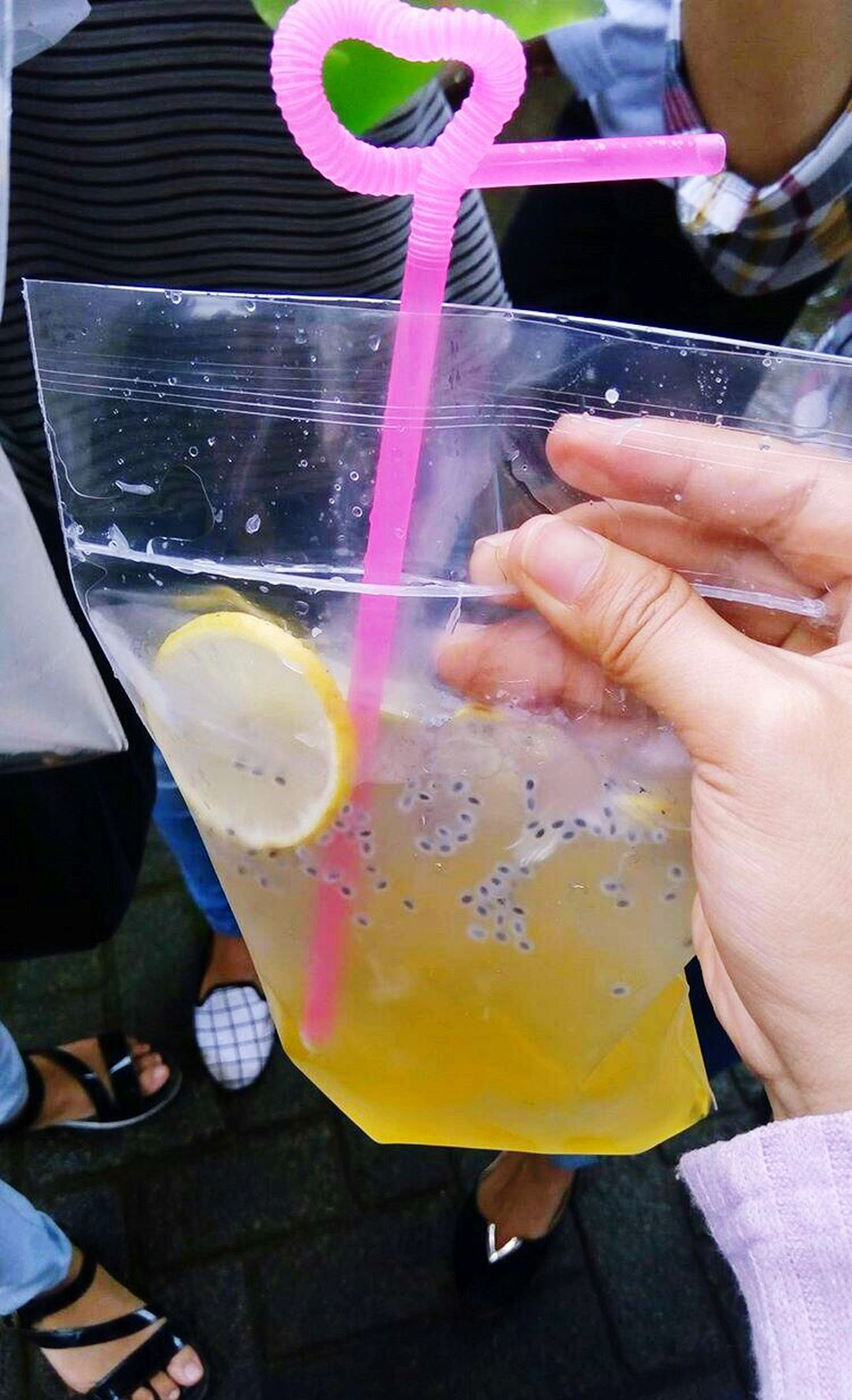 Lemonsquash Lemonwater Drink Up