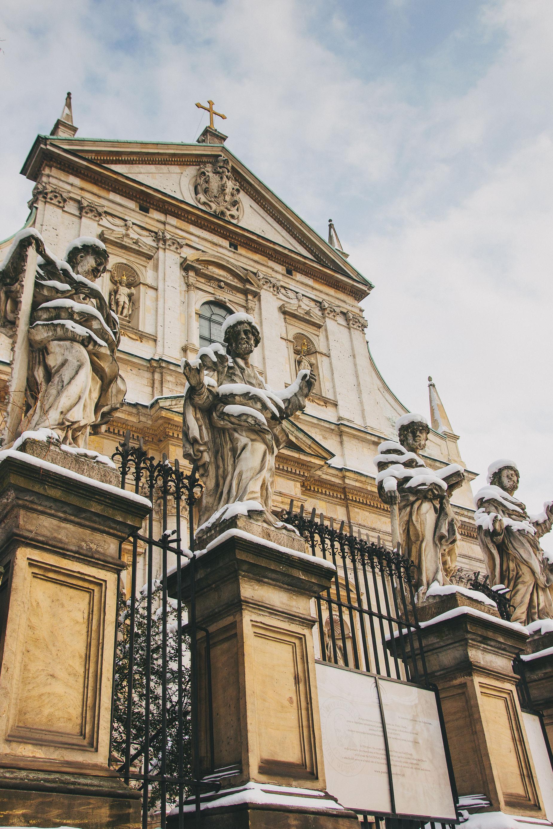 Kościół Św. Apostołów Piotra i Pawła Architecture Church Grodzka Historic History Krakow Poland Religion Sculpture