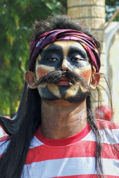 Sakera BYOPaper! Close-up Day Headshot Looking At Camera Madura Island Outdoors People Portrait Real People Sakera Our Kultur Traditional Indonesia..