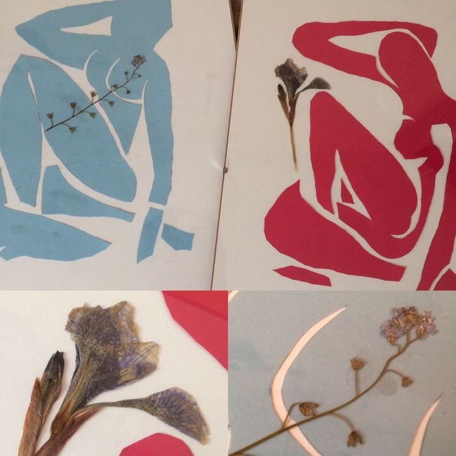 Art Matisse Women Flowers Act My Art Lazy Friday who said that matisse has to be blue?