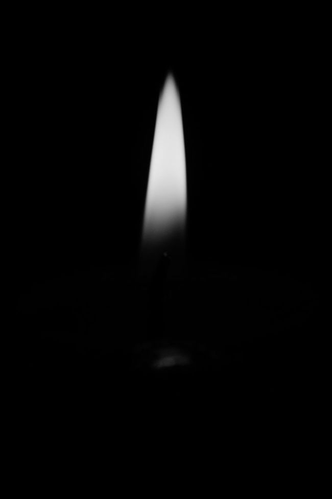 Flame Burning Illuminated Dark Black Background Darkroom Fire PhonePhotography Home Is Where The Art Is Indoors  Light In The Darkness Candle Light Candle Flame Candle Light Photography Night Black And White