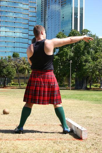 Competition Day Grass Heavy Athletics Kilt Lawn Lifestyles Outdoors Park Scottish Festival Scottish Highlands