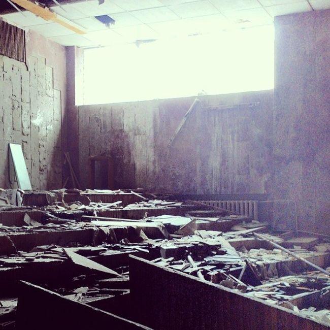 Окультуриваться надо, иначе пиздец (с) припять дк_энергетик чернобыль Chernobyl pripyat