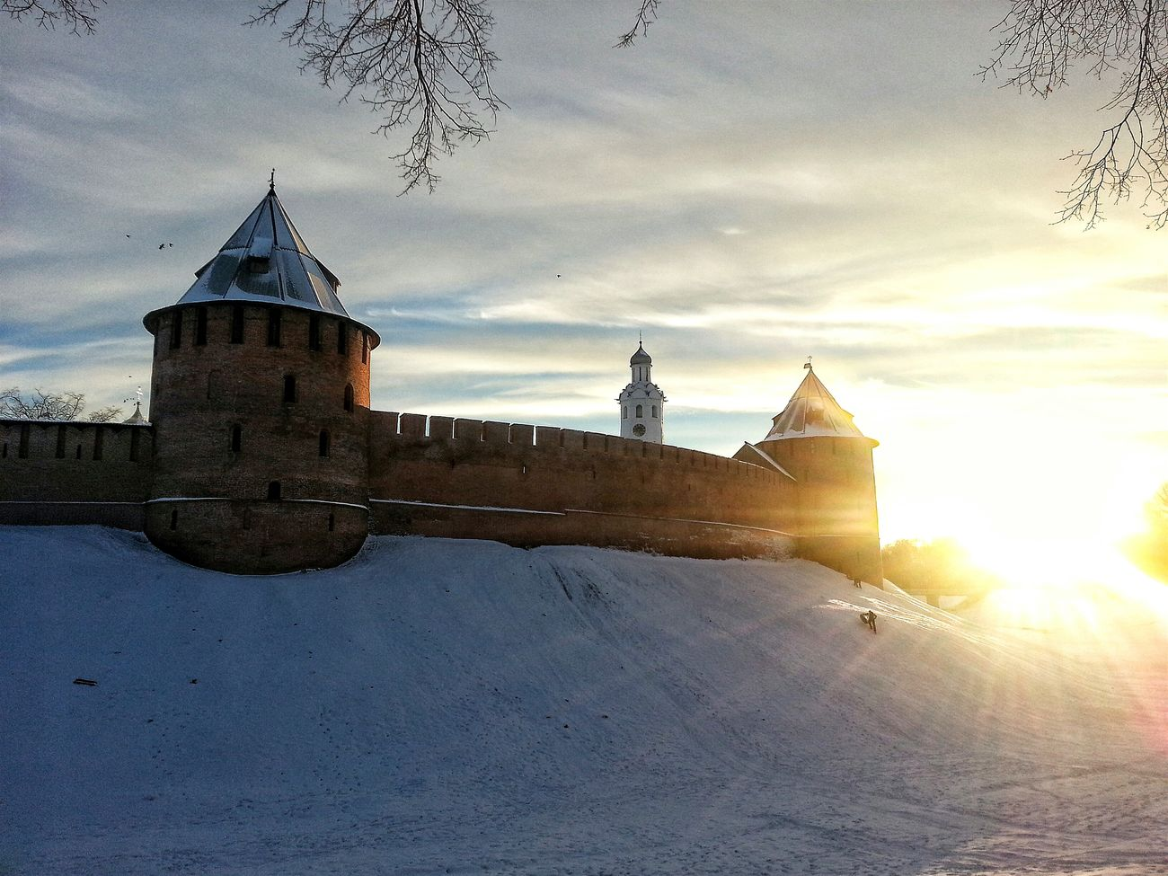Samsung Galaxy S3 No People Nature Built Structure Snow Sky Day Architecture Velikiy Novgorod VelikiyNovgorod