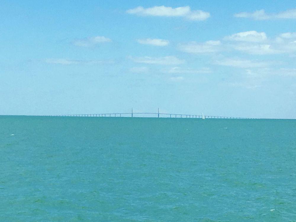 Sunshineskywaybridge Sunshineskyway Skyway Bridge Sunshine Skyway Bridge