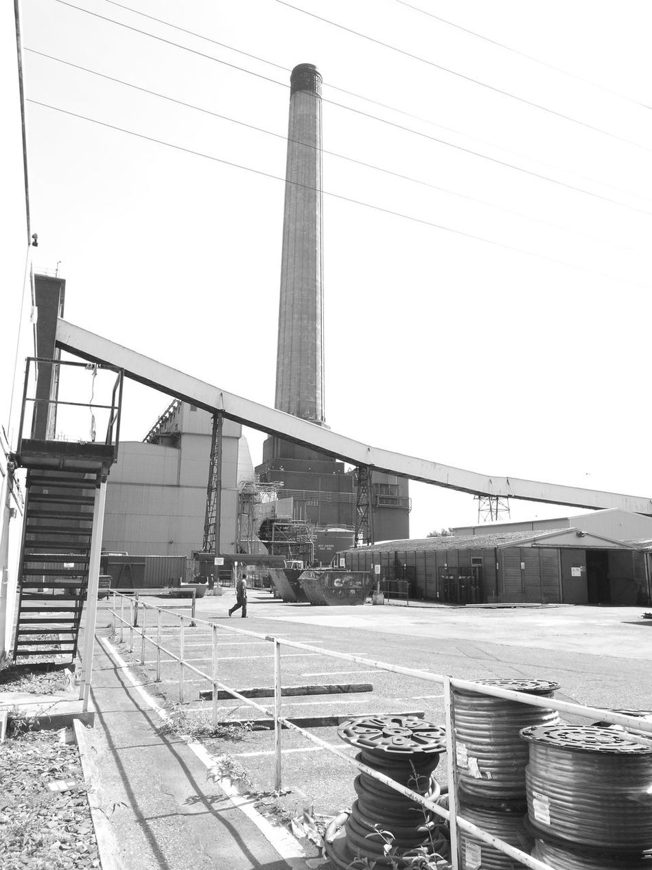 Uskmouth power station, stack