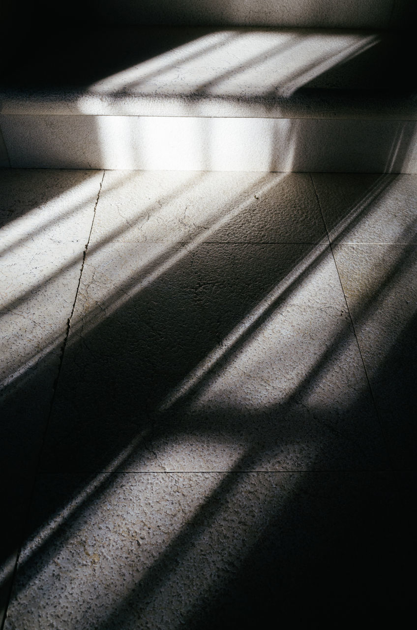 shadow, sunlight, no people, day, indoors, close-up