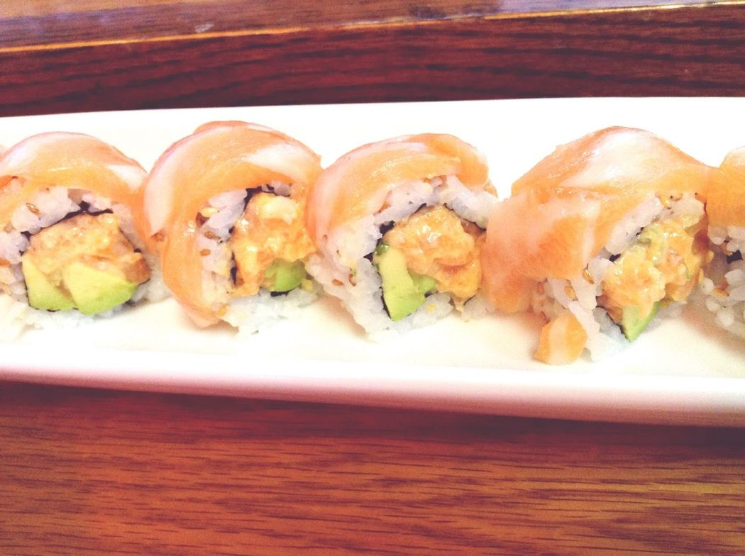 Sushi Time Vgvg Salmon Delicious