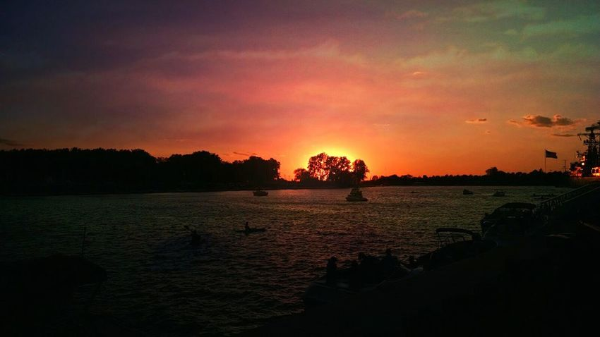 I Love My City Buffalony Canalsidebuffalo CanalSide Erie Canal New York SummerNights Check This Out Skyscape Sunset